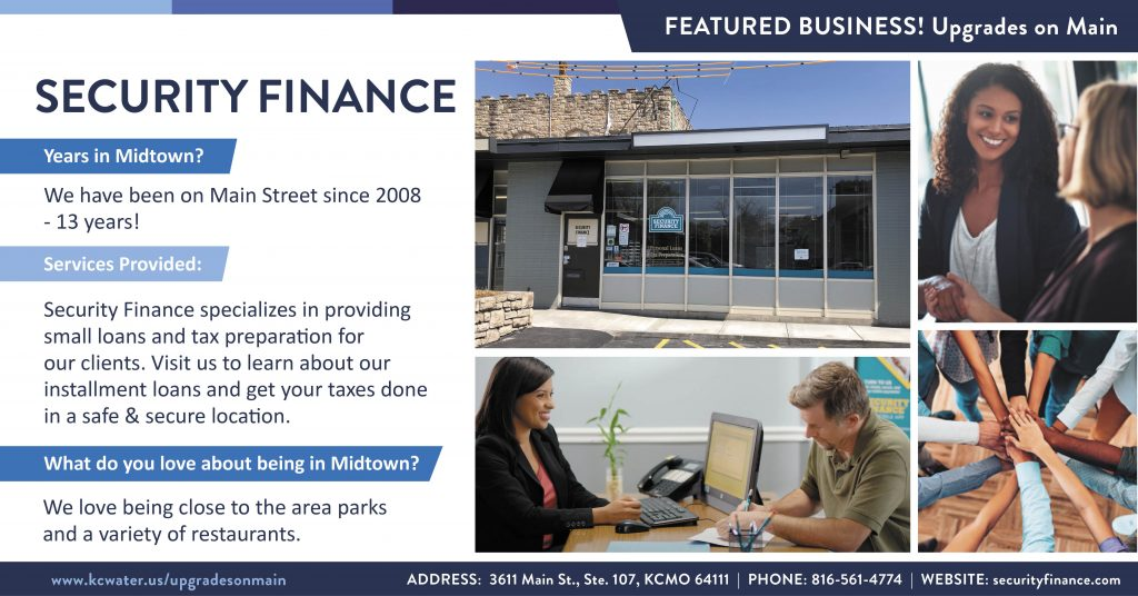Featured Business Friday - Security Finance