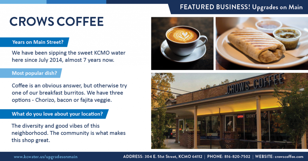 Featured Business Friday - Crows Coffee
