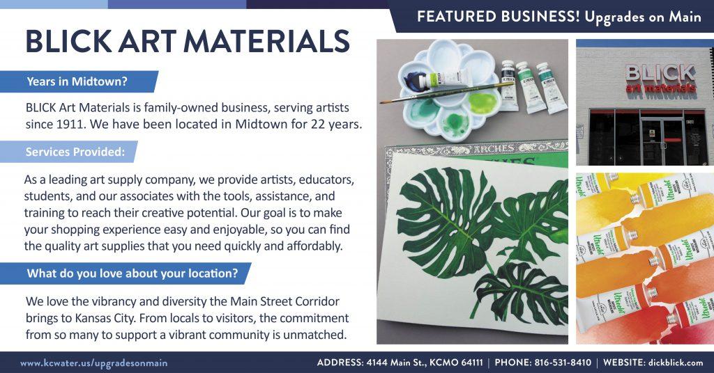 Featured Business Friday - BLICK Art Materials