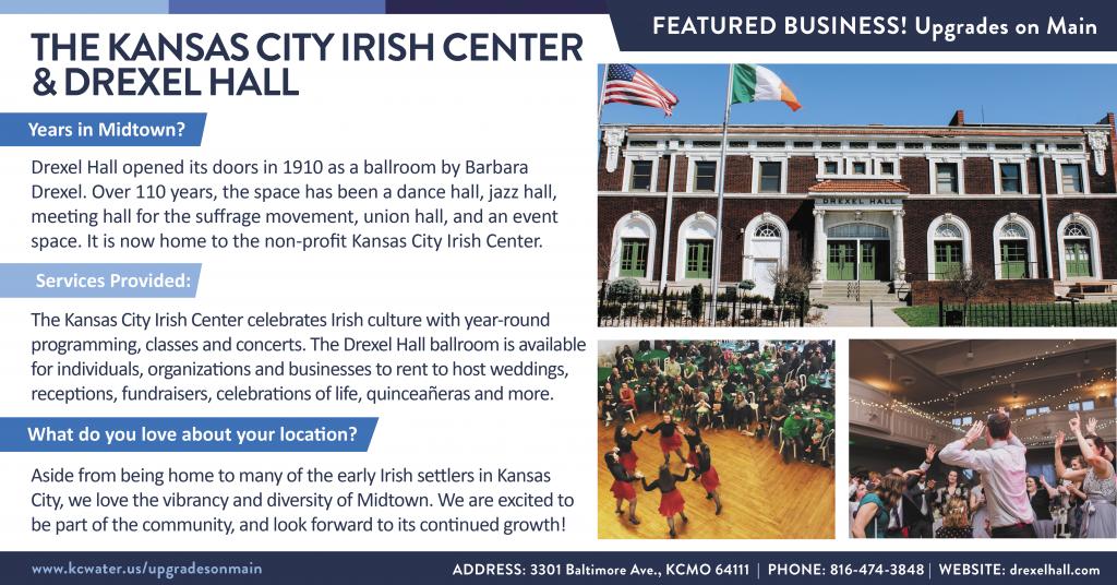 The Kansas City Irish Center & Drexel Hall