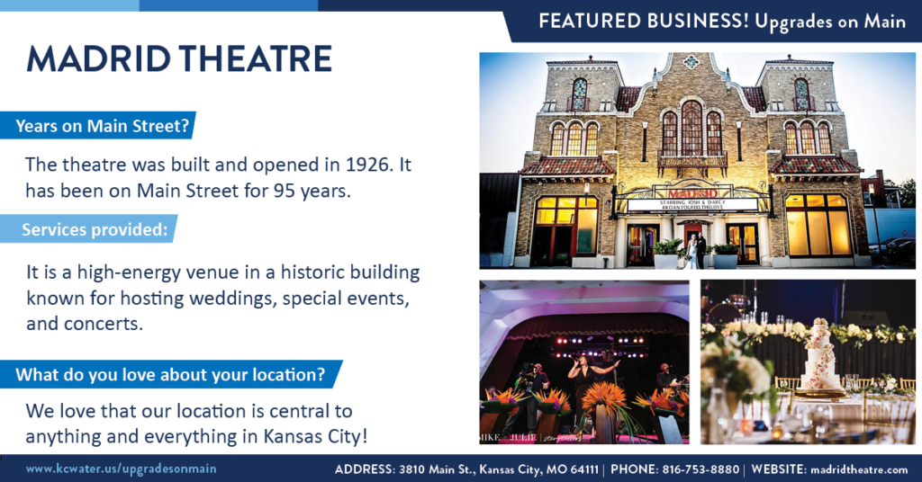Featured Business Friday: Madrid Theatre