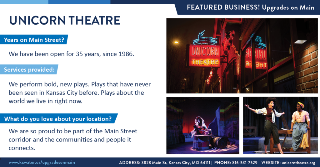 Featured Business Friday - Unicorn Theatre