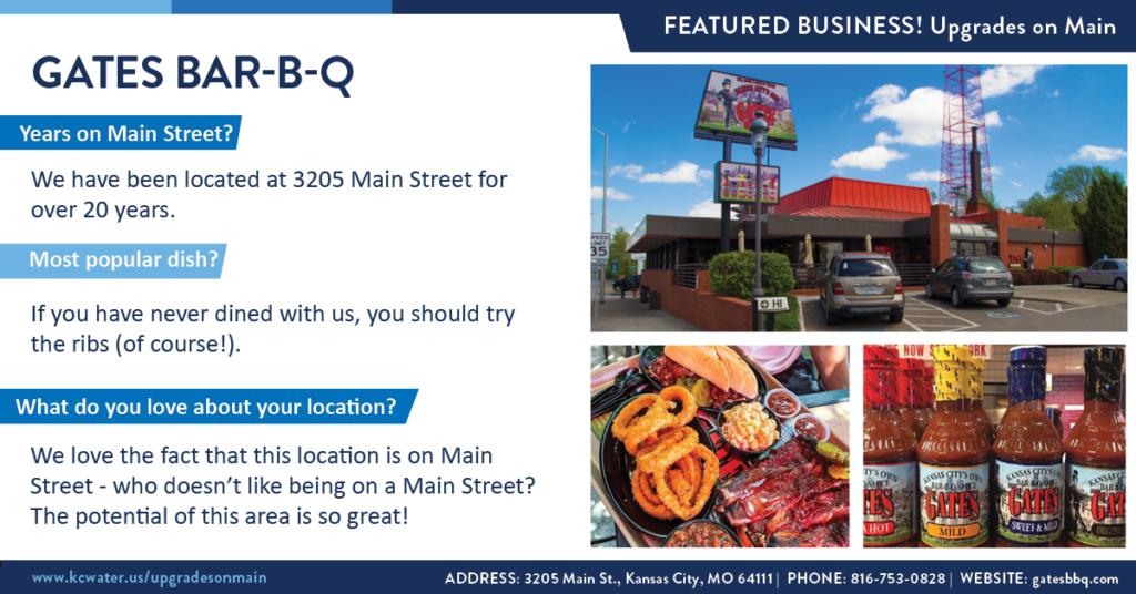 Featured Business: GATES BAR-B-Q
