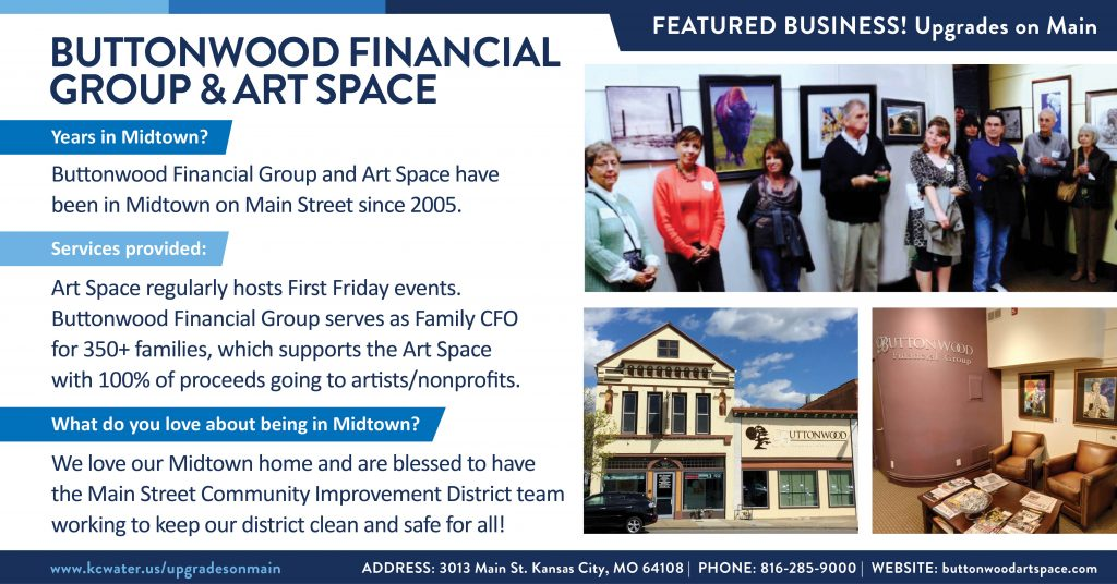 Featured Business Friday - Buttonwood Financial Group and Art Space