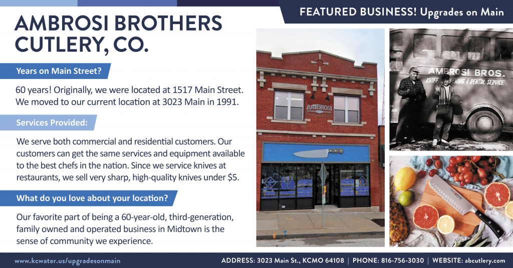 Featured Business Friday - Ambrosi Brothers Cutlery